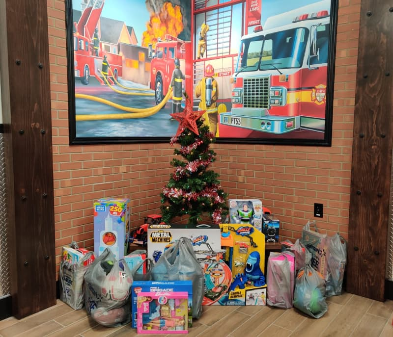 Firehouse Subs toy donations
