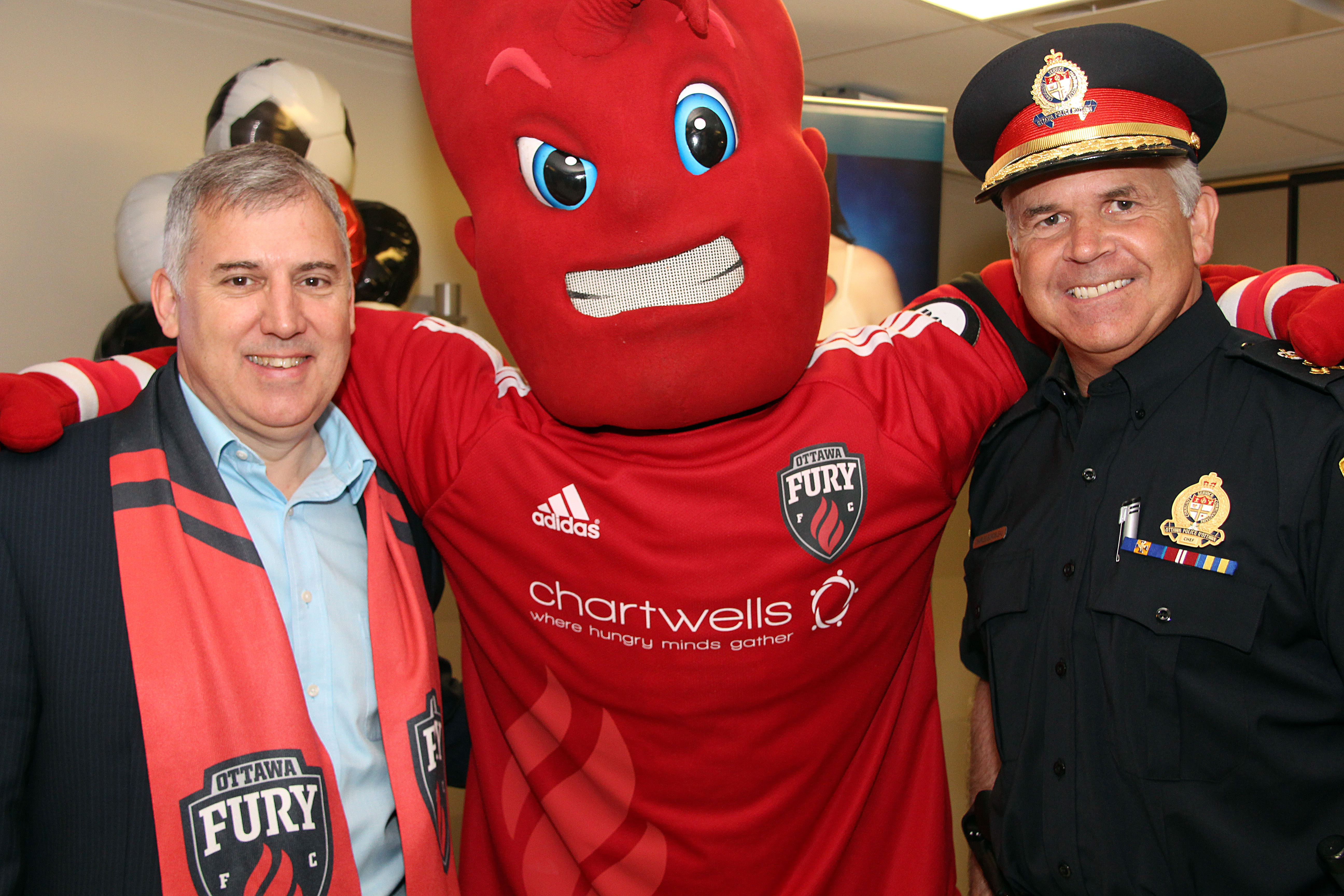 Fury for the Heart kick-off event