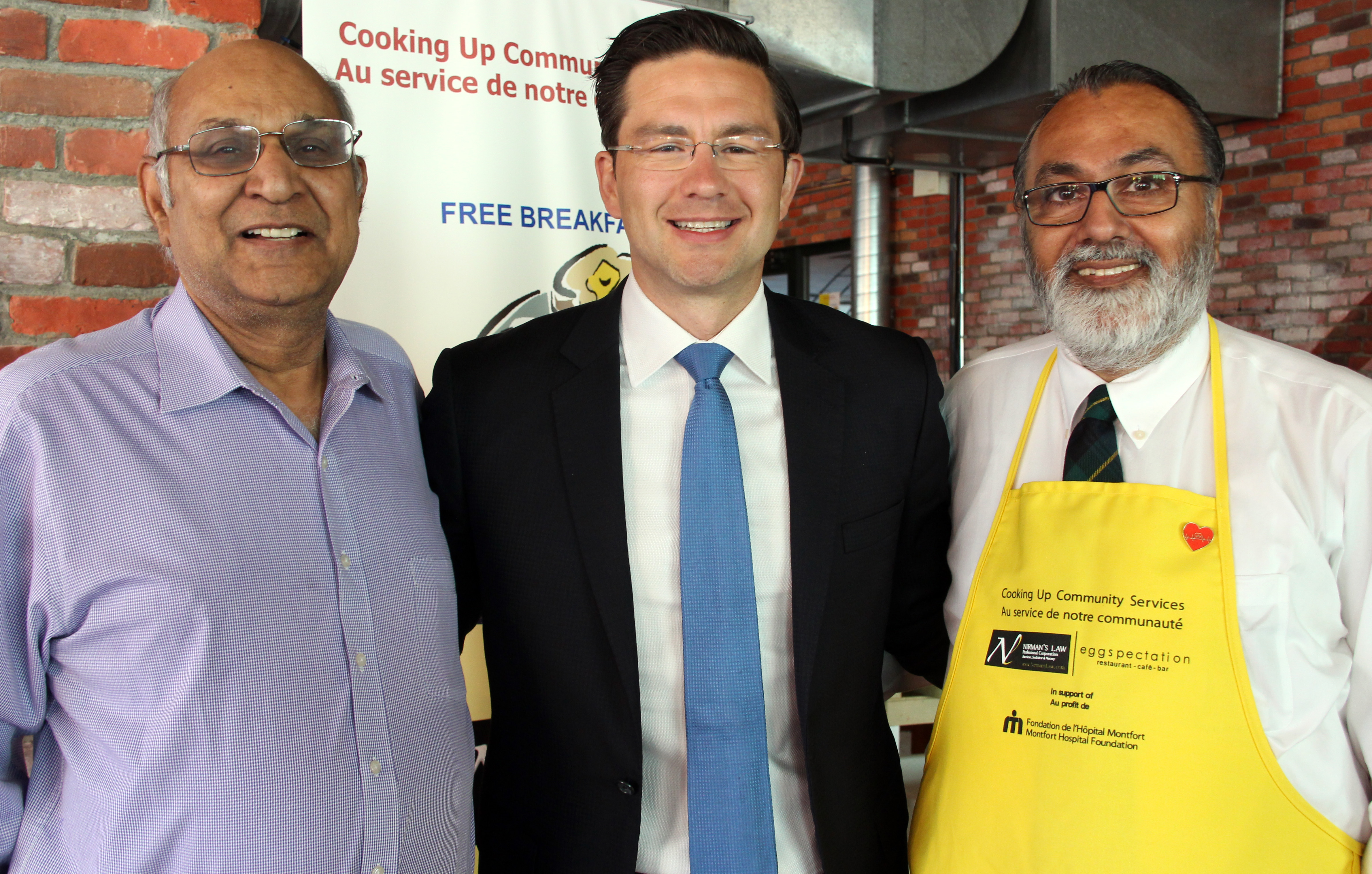Free Community Breakfast for Montfort Hospital