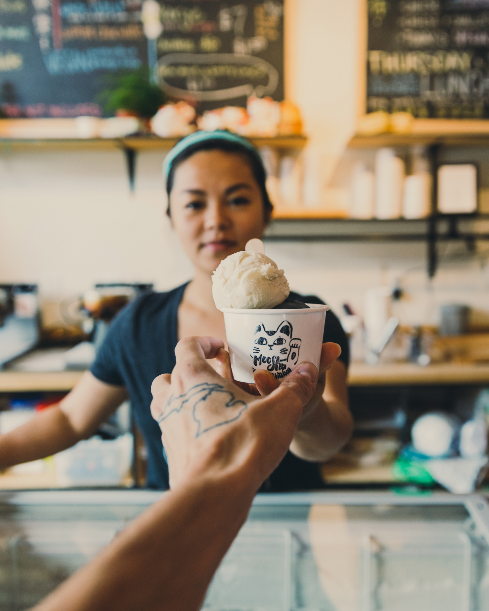 Liz Mok of Moo Shu Ice Cream