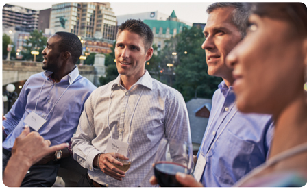Event-goes network over drinks in downtown Ottawa