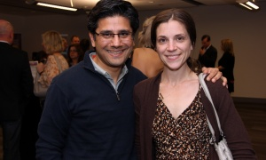 Ontario Attorney General and Ottawa Centre MPP Yasir Naqvi and his wife, Christine McMillan,  at Red, White and Gold: An Amazing Evening with Chantal Kreviazuk, held at the Shaw Centre on Friday, May 26, 2017. (Photo by Caroline Phillips)