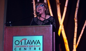 Shelagh Rogers, host and producer of CBC Radio's The Next Chapter, was back to emcee the Igniting the Spirit Gala, held at the Ottawa Conference and Event Centre on Wednesday, June 21, 2017.