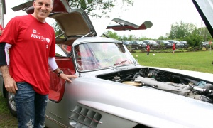 Dr. Hassan Moghadam had his 1956 Mercedes-Benz 300SL on display at the Fury for the Heart benefit for the Montfort Hospital, held at Stonefields Event Destination on Sunday, June 25, 2017. (Photo by Caroline Phillips)
