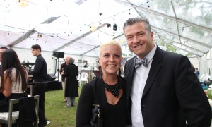 Ottawa city councillor Tim Tierney (Beacon Hill-Cyrville) and his wife Jenny at the Ottawa Riverkeeper Gala held at Lemieux Island on the Ottawa River on Wednesday, May 31, 2017. (Photo by Caroline Phillips)