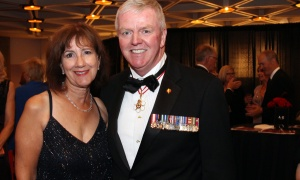Rick Hillier, former chief of defence staff, and his wife, Joyce, at the NAC Gala held at the National Arts Centre on Saturday, September 16, 2017. Photo by Caroline Phillips