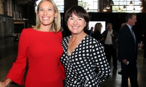From left, Antoinette Strazza, chief operating officer at Emond Harnden LLP, with Camille Therriault-Power, president of RH Belvedere HR, at Emond Harnden's 30 Year Celebration, held at the Horticulture Building at Lansdowne on Thursday, September 28, 2017. Photo by Caroline Phillips