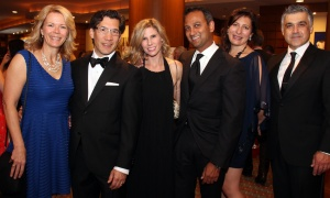 From left, Tammy Switucha, Mitch Kitagawa (Kelly Santini LLP), Jill Payne, John Thomas (Azure Urban Developments), Carmen Sanchez and Joseph Federico (Physiotherapy on Kent) at the 15th annual Lumière Gala held at the Brookstreet Hotel on Thursday, September 14, 2017. Photo by Caroline Phillips