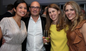 From left, Jessie Ramien with Jeff Smith, BLG lawyer Emma Blanchard and Jami-Lynne Sytema at the 7th Annual Share Party, held at Andaz hotel in the Byward Market on Friday, November 3, 2017, in support of Habitat for Humanity. Photo by Caroline Phillips