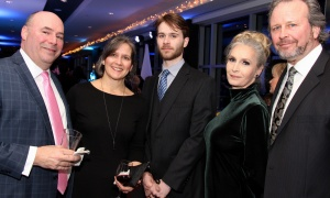 From left, John McEvoy from Reliance Holmes with his wife, Wendy, Josh Clatney, Allyson Quinn and Mark Clatney  at the Kaleidoscope of Hope gala held at the Brookstreet Hotel on Friday, February 9, 2018. Photo by Caroline Phillips