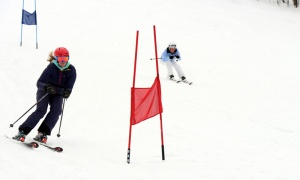 The Charity Skiathon for the Boys and Girls Club of Ottawa was held at Camp Fortune on Thursday, March 29, 2018. Photo by Caroline Phillips