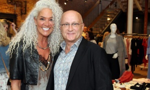 Mandy Gosewich with Michael Gennis at the CANFAR Byward Social held at Schad boutique. Photo by Caroline Phillips
