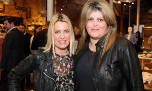 Chantal Biro-Chad with Tara Shields, co-chair of the CANFAR Byward Social held at Schad boutique on Tuesday, May 1, 2018. Photo by Caroline Phillips