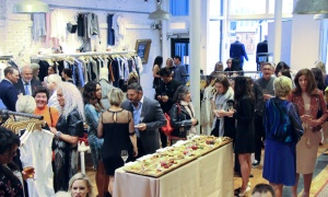 Schad boutique on Sussex Drive hosted a benefit for the Canadian Foundation for AIDS Research (CANFAR) on Tuesday, May 1, 2018. Photo by Caroline Phillips