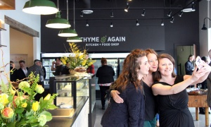 Thyme & Again hosted a party Friday, May 4, 2018, to celebrate its second new location, Thyme & Again Kitchen + Food Shop, on Carling Avenue. Photo by Caroline Phillips