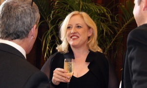 Conservative Party deputy leader Lisa Raitt at the Politics and Pen dinner held Wednesday, May 9, 2018. Photo by Caroline Phillips