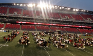 Gourmet on the Gridiron was held at TD Place Stadium at Lansdowne on Friday, August 24, 2018, in support of the OSEG Foundation. Photo by Caroline Phillips