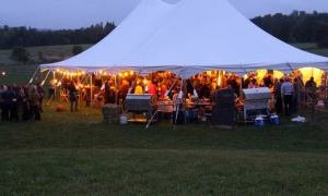The inaugural Tunes and Spoons benefit held at the Klotz Farm in Farrellton, Que. on Sunday, Septem