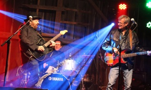 Colin Linden, of Blackie and the Rodeo Kings, and his band performed at the inaugural Tunes and Spoons benefit held at the Klotz Farm in Farrellton, Que. on Sunday, Septem
