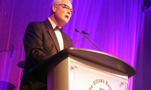 Dr. Jack Kitts at The Ottawa Hospital Gala, held at The Westin hotel on Saturday, Oct. 27, 2018. Photo by Caroline Phillips