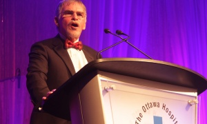 Dr. Duncan Stewart at The Ottawa Hospital Gala, held at The Westin hotel on Saturday, Oct. 27, 2018. Photo by Caroline Phillips