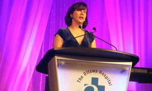 Dr. Kristin Danko, recipient of the Worton Researcher in Training Award, at The Ottawa Hospital Gala, held at The Westin hotel on Saturday, Oct. 27, 2018. Photo by Caroline Phillips
