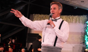 CTV Ottawa's Michael O'Byrne auctioned off eight items at The Viennese Winter Ball: Spring Celebration, held at the Shaw Centre on Saturday, March 30, 2019. Photo by Caroline Phillips