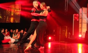 From left, Dr. Tim Ramsay with his dance partner, Maria Gladkikh, in the Dancing with the Docs competition, held during a gala dinner at the Hilton Lac-Leamy on Saturday, April 6, 2019, in support of patient care and research at The Ottawa Hospital. Photo by Caroline Phillips