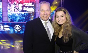 Tim Kluke, president and CEO of The Ottawa Hospital Foundation, with his daughter, Lilly, 15, who volunteered at The Dancing with the Docs gala held to raise funds for patient  care and research at The Ottawa Hospital. Photo by Caroline Phillips