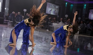 Ottawa dancers, known as Naomi & Muskan, perform at The Infinity Ball. Photo by Caroline Phillips