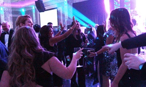 Partygoers packed the dance floor at The Infinity Ball, held at the Infinity Convention Centre on Friday, Oct. 11, 2019. Photo by Caroline Phillips