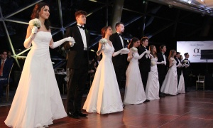 Debutantes and cavaliers performed at the Viennese Winter Ball, held at the Shaw Centre on Saturday, February 29, 2020. Photo by Caroline Phillips