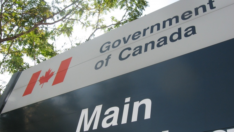 Federal government sign