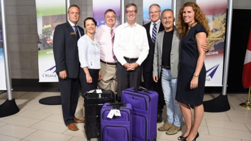 Ottawa International Airport Authority with Mayor Jim Watson