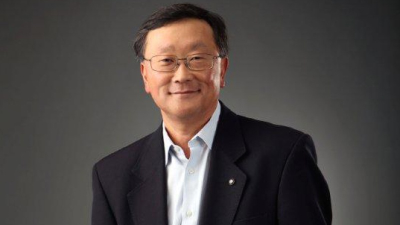 John Chen is CEO of BlackBerry.