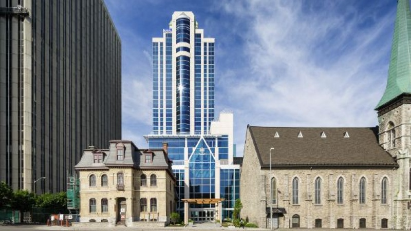 Performance Court at 150 Elgin St. is targeting LEED Gold