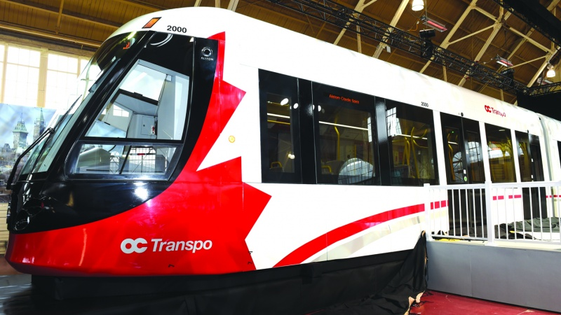 New LRT trains in Ottawa