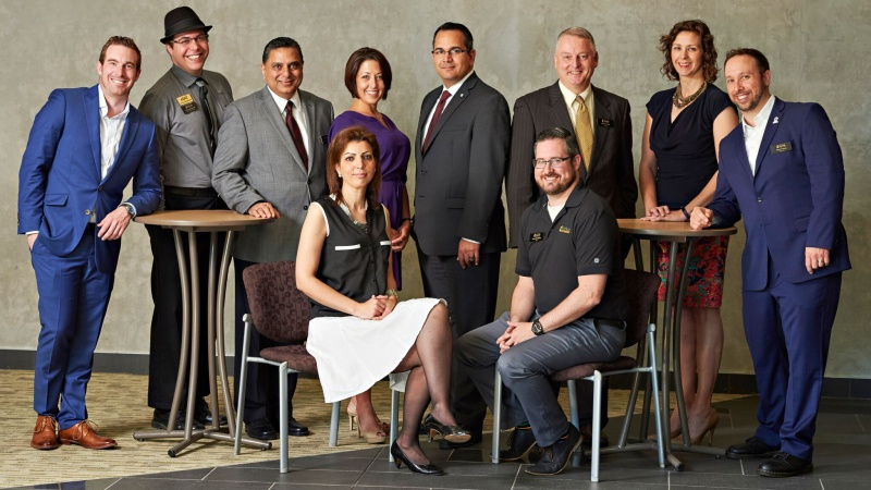 The Orléans Chamber's board of directors