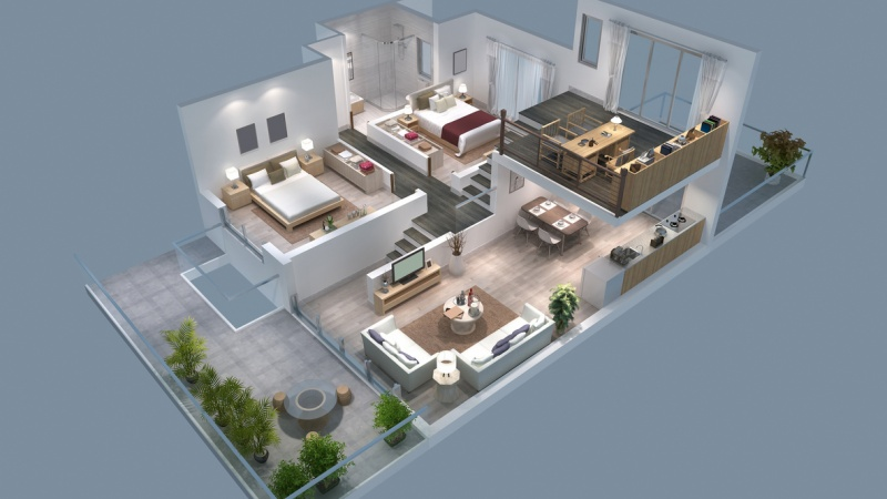 3D realty