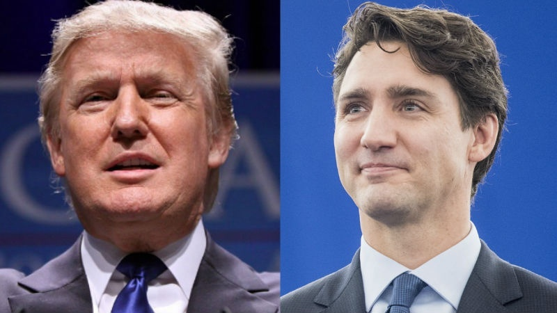 Trump and Trudeau