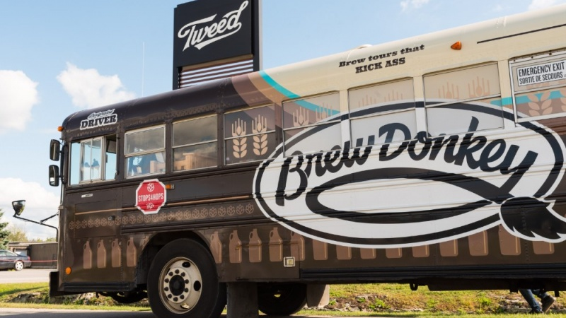 Ottawa's Brew Donkey to offer tours of Tweed cannabis grow-op this summer | Ottawa Business Journal