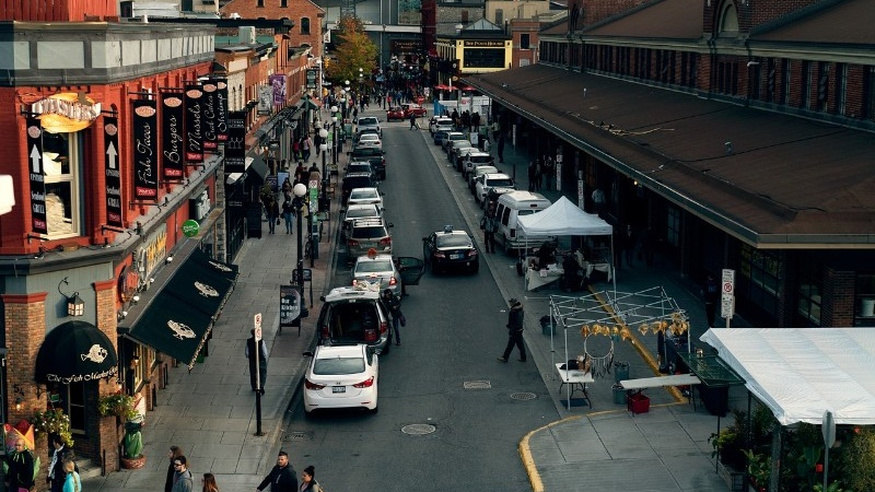 William Street in ByWard Market