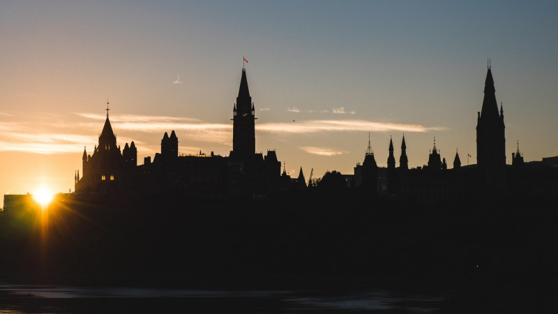 Parliament Hill dusk