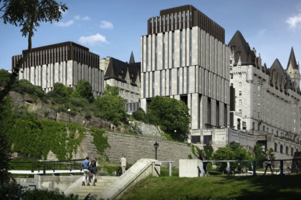 Revised Chateau Laurier design