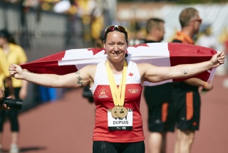 Natacha Dupuis at the 2017 Invictus Games